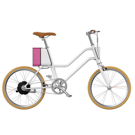 YunBike C1 Women`s Fresh White