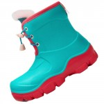 Honeywell Waterproof Non-slip Kids Boots Green/Red Size 31
