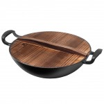 Yi Wu Yi Shi Wok Iron Frying Pan 32 cm