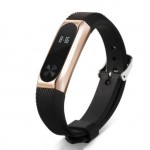 Xiaomi Mi Band 2 Silicone Strap Black/Rose Gold