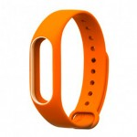 Xiaomi Mi Band 2 Silicone Strap Orange/White