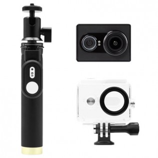 Yi Action Camera Black Travel Kit
