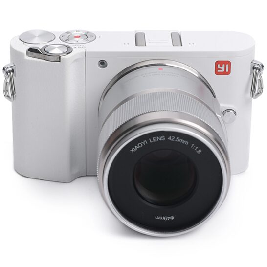 Yi M1 Mirrorless Digital Camera Prime Lens Chinese Version White