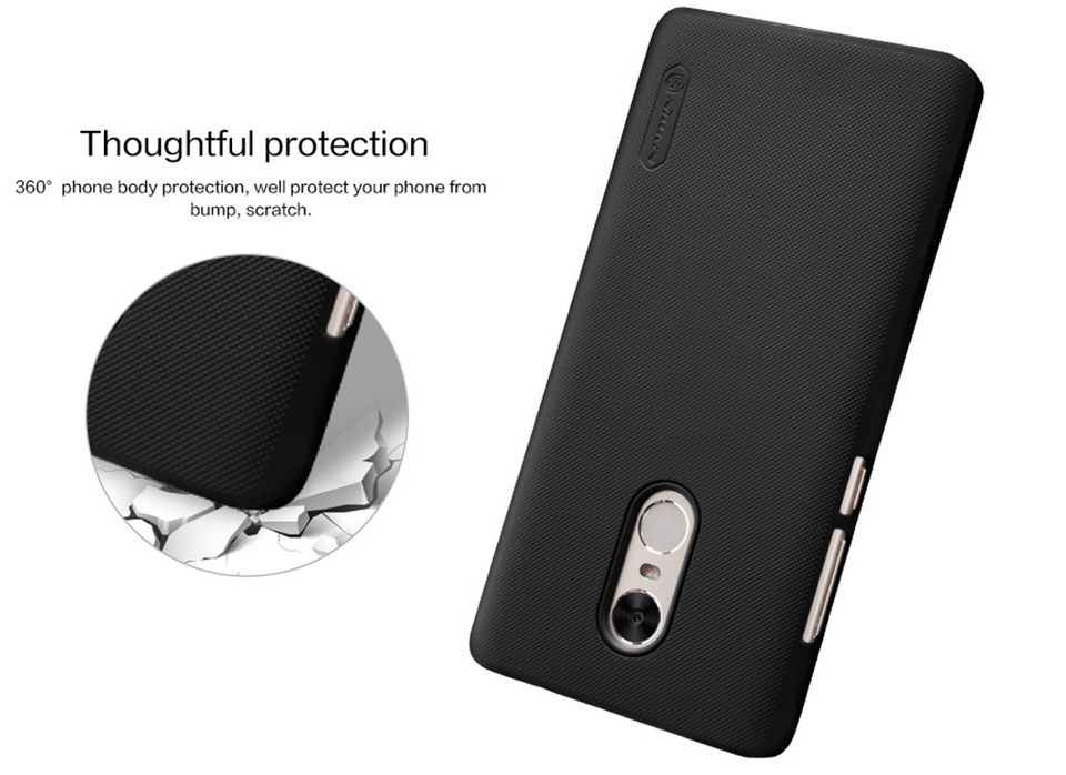 Xiaomi Redmi Note 4X Nillkin Frosted Shield Hard Case Photo 5